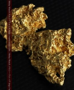14.4gの縦長のとても面の大きな自然金-g0247-8