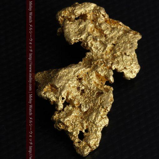 14.4gの縦長のとても面の大きな自然金-g0247-9