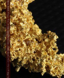 7.89gのとても繊細な姿をした自然金-g0248-1