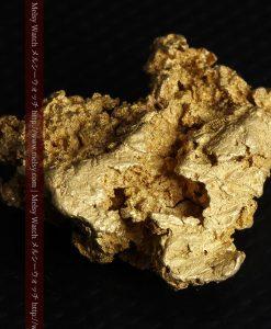 16.45gの自立する狛犬のような姿の自然金-g249-10