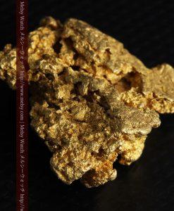 16.45gの自立する狛犬のような姿の自然金-g249-11