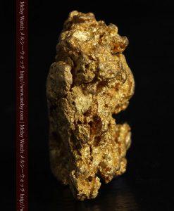 16.45gの自立する狛犬のような姿の自然金-g249-4