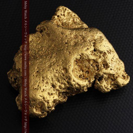 300g超えの博物館級の超大型自然金-g0250-10