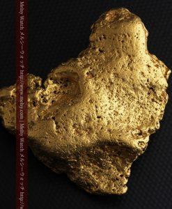 300g超えの博物館級の超大型自然金-g0250-11