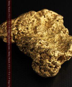 300g超えの博物館級の超大型自然金-g0250-12