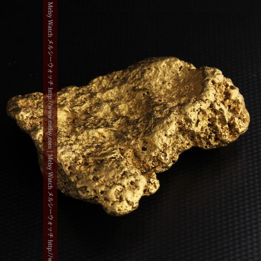 300g超えの博物館級の超大型自然金-g0250-13