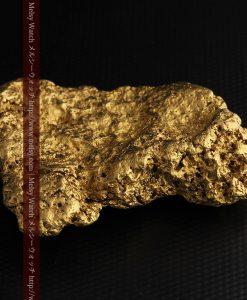 300g超えの博物館級の超大型自然金-g0250-15