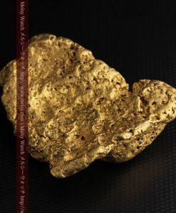 300g超えの博物館級の超大型自然金-g0250-17