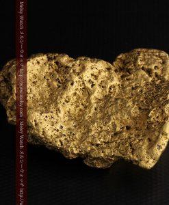 300g超えの博物館級の超大型自然金-g0250-18