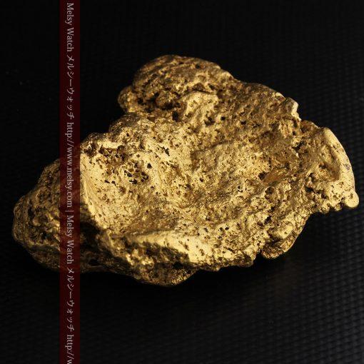 300g超えの博物館級の超大型自然金-g0250-19