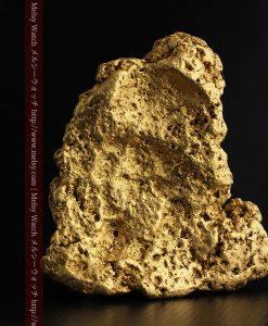 300g超えの博物館級の超大型自然金-g0250-2