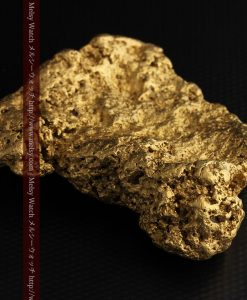 300g超えの博物館級の超大型自然金-g0250-22
