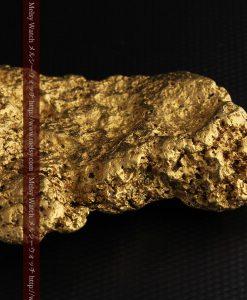 300g超えの博物館級の超大型自然金-g0250-23