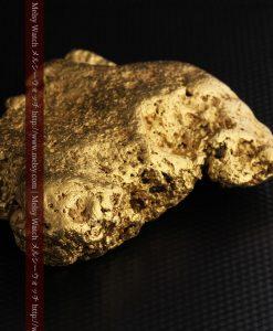 300g超えの博物館級の超大型自然金-g0250-25