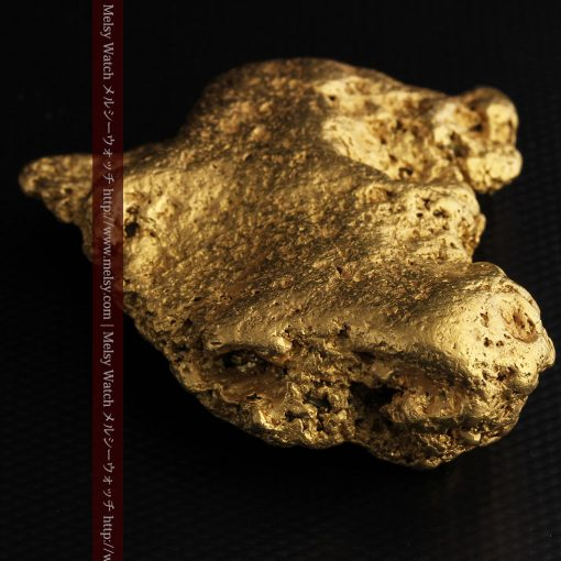 300g超えの博物館級の超大型自然金-g0250-26