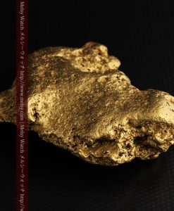 300g超えの博物館級の超大型自然金-g0250-27