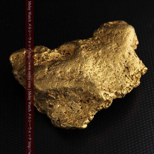 300g超えの博物館級の超大型自然金-g0250-28