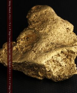 300g超えの博物館級の超大型自然金-g0250-29