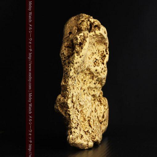 300g超えの博物館級の超大型自然金-g0250-3