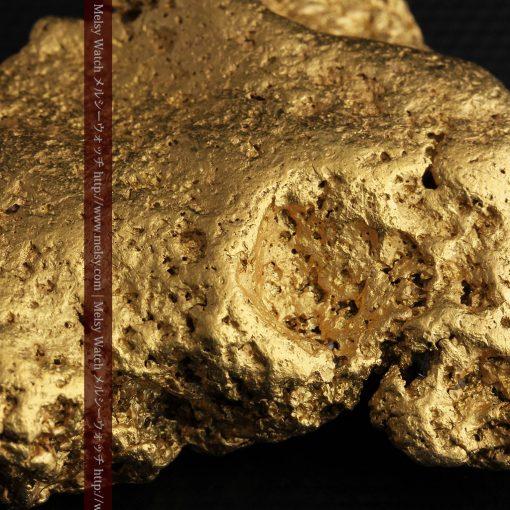 300g超えの博物館級の超大型自然金-g0250-31