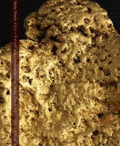300g超えの博物館級の超大型自然金-g0250-32