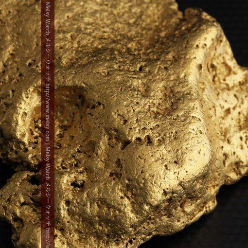 300g超えの博物館級の超大型自然金-g0250-34
