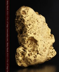 300g超えの博物館級の超大型自然金-g0250-5