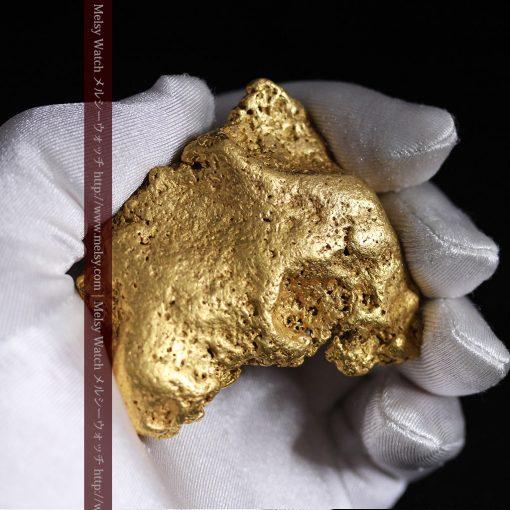 300g超えの博物館級の超大型自然金-g0250-7