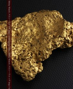 300g超えの博物館級の超大型自然金-g0250-8
