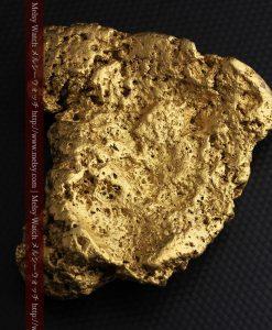 300g超えの博物館級の超大型自然金-g0250-9