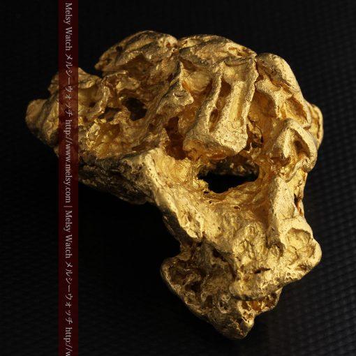 231gの天然のジュエリーのように光り輝く超大型自然金-g0251-16