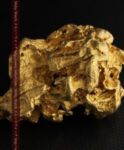 231gの天然のジュエリーのように光り輝く超大型自然金-g0251-17