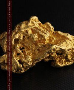 231gの天然のジュエリーのように光り輝く超大型自然金-g0251-18