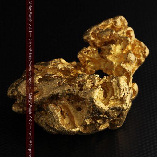 231gの天然のジュエリーのように光り輝く超大型自然金-g0251-20