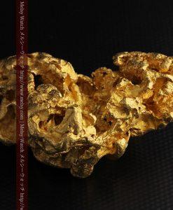 231gの天然のジュエリーのように光り輝く超大型自然金-g0251-21