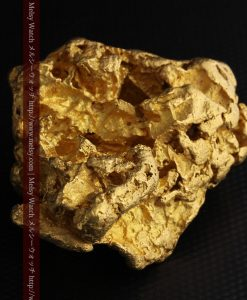 231gの天然のジュエリーのように光り輝く超大型自然金-g0251-22