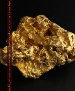 231gの天然のジュエリーのように光り輝く超大型自然金-g0251-23