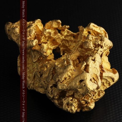 231gの天然のジュエリーのように光り輝く超大型自然金-g0251-25