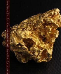 231gの天然のジュエリーのように光り輝く超大型自然金-g0251-26