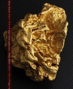 231gの天然のジュエリーのように光り輝く超大型自然金-g0251-29