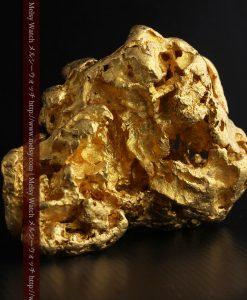 231gの天然のジュエリーのように光り輝く超大型自然金-g0251-3