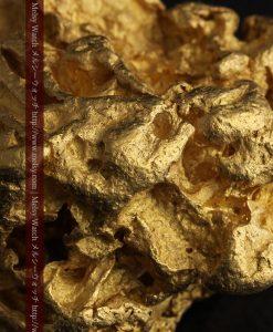 231gの天然のジュエリーのように光り輝く超大型自然金-g0251-31