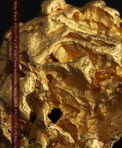 231gの天然のジュエリーのように光り輝く超大型自然金-g0251-32