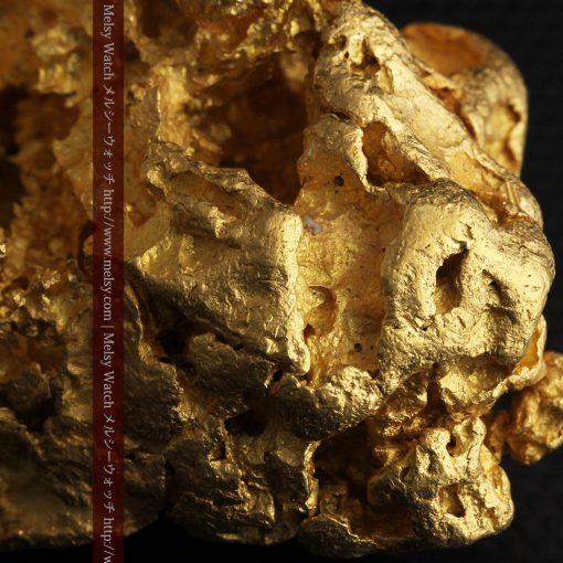 231gの天然のジュエリーのように光り輝く超大型自然金-g0251-33