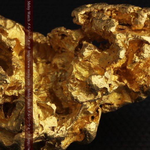 231gの天然のジュエリーのように光り輝く超大型自然金-g0251-34