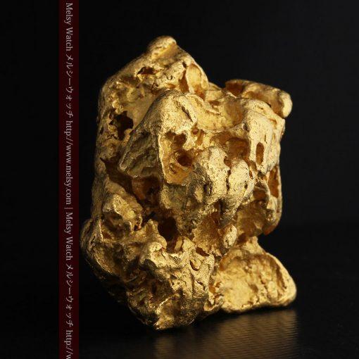 231gの天然のジュエリーのように光り輝く超大型自然金-g0251-5