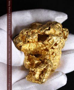 231gの天然のジュエリーのように光り輝く超大型自然金-g0251-6