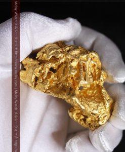 231gの天然のジュエリーのように光り輝く超大型自然金-g0251-7