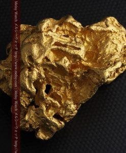 231gの天然のジュエリーのように光り輝く超大型自然金-g0251-9