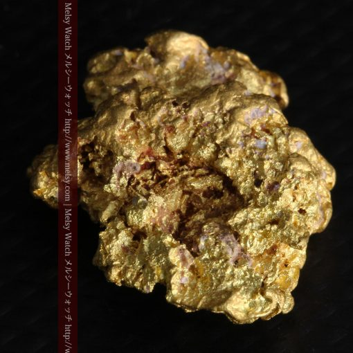7.45gの自立して飾れる雰囲気の良い自然金-g0252-11